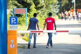 Veel meer incidenten in azc's, vooral in Budel, Oisterwijk en Overloon