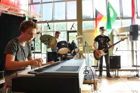 Feestelijk open podium in Boxmeer