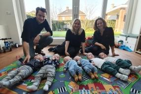 De ooievaar had het druk in Oploo: vier tweelingen geboren in negen maanden tijd [VIDEO]
