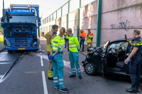 Fietser gewond na botsing in Sint Anthonis