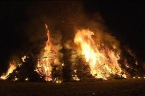Paasvuur in Westerbeek afgelast vanwege droogte: 'Niet verantwoord om door te laten gaan'