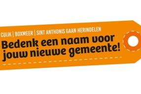 Zeg het maar! Wat is een goede naam voor de fusiegemeente Cuijk, Boxmeer en Sint Anthonis?
