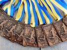 De medailles voor onze 4e editie van de Venrayse Singelloop zijn ook binnen !!!!