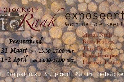 Evenement: Fotogroep RAAK exposeert voor de 5e keer!