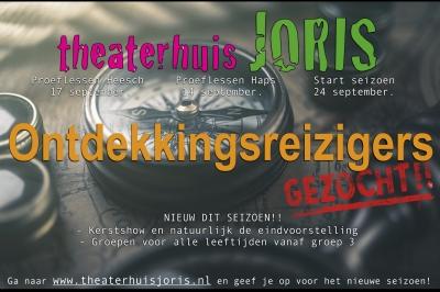Evenement: Theaterhuis Joris Proeflessen