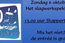Slagwerkfestival 60 jaar Slagwerkgroep Juliana sporthal de Stappert Haps