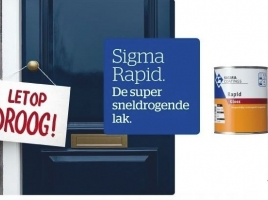 SIGMA RAPID - DE SUPER SNELDROGENDE LAK