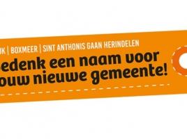 Meer dan duizend suggesties voor nieuwe naam fusiegemeente, met de complimenten van de burgemeester!